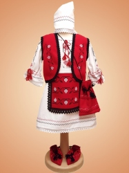 Costum botez fete traditional - cod X03