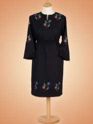 Rochie din stofa in stil traditional- cod V10