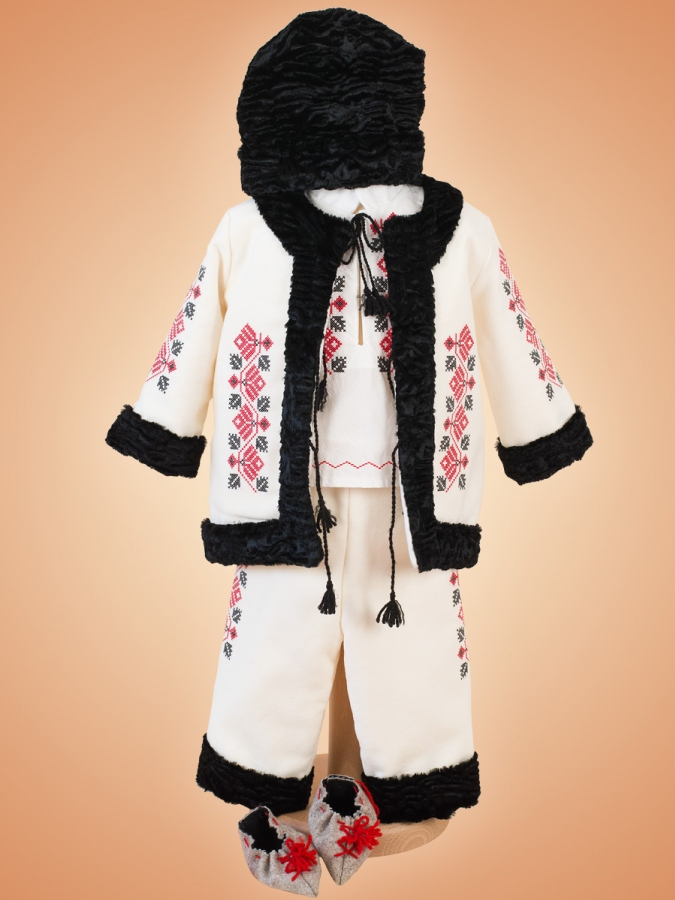 Costum Traditional Bebe Autumn Winter Newborn Baby Clothes Baby